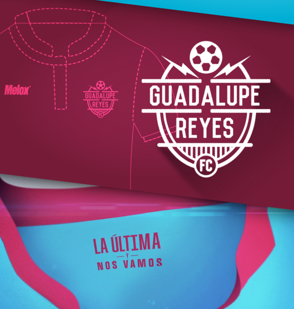 Jersey Oficial, Guadalupe Reyes // Melox